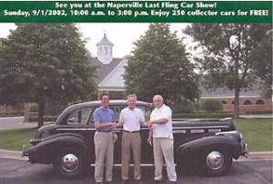 2002 Winner Postcard