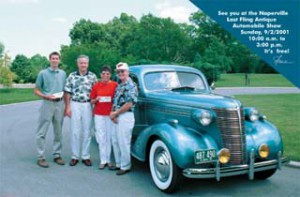 2001 Winner Postcard